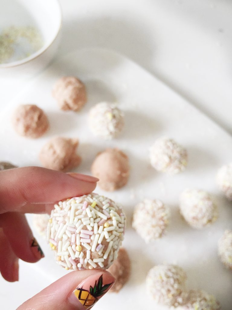 Unicorn Bliss Balls