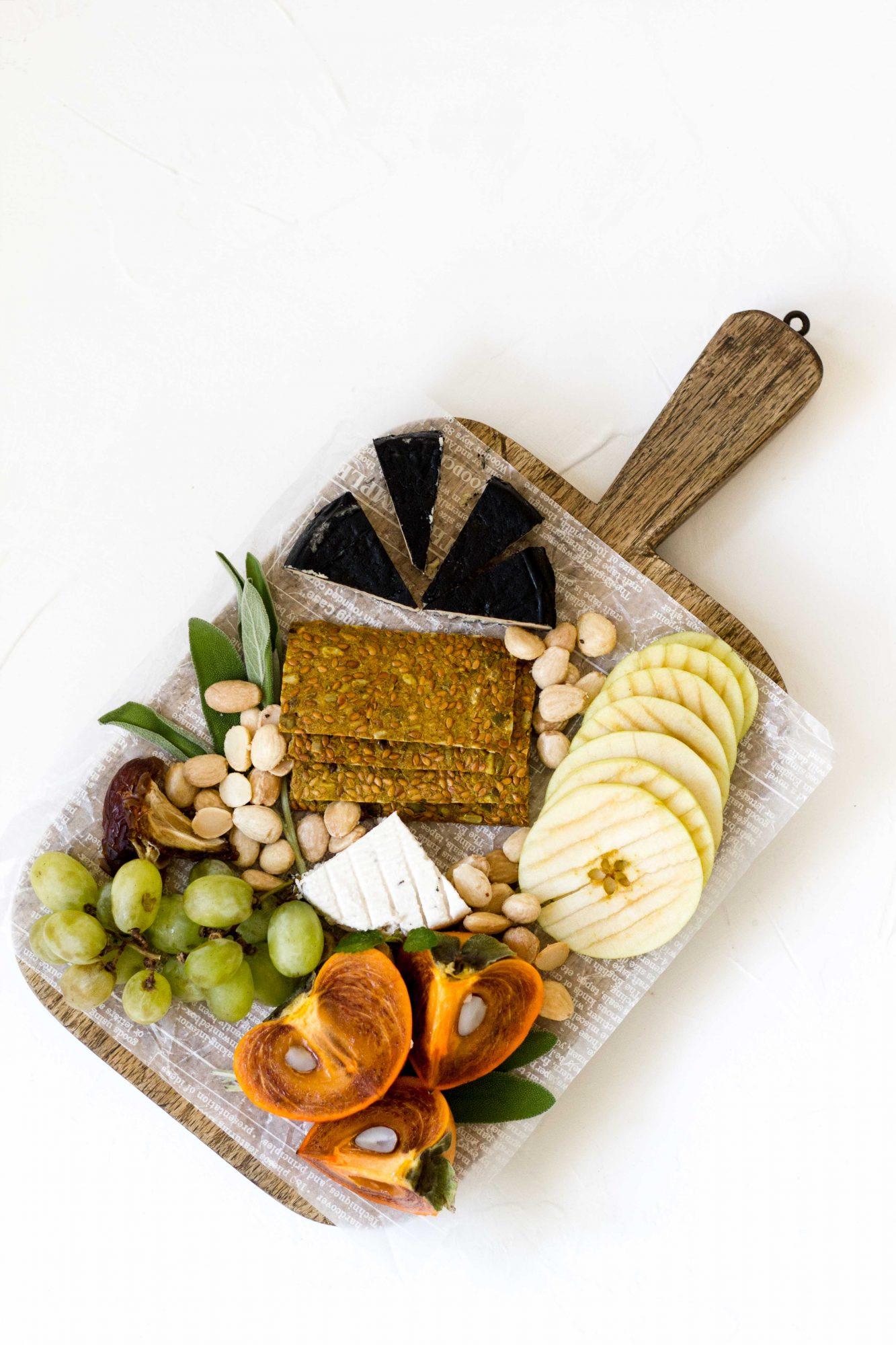 Fall Winter Cheese Board