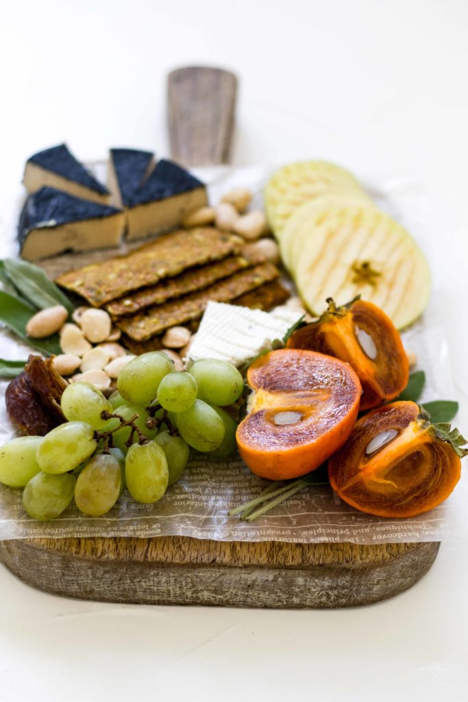 Fall Winter Cheese Board