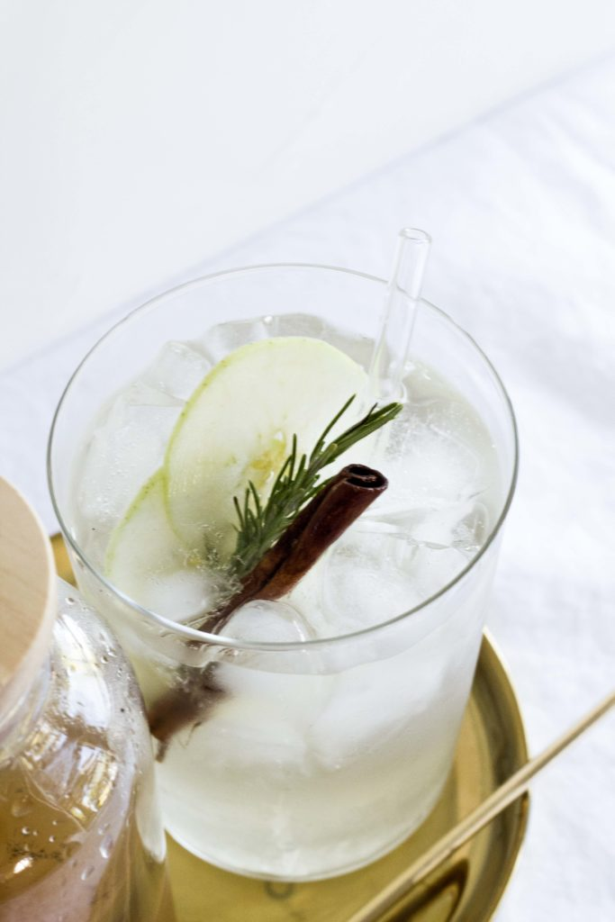 Apple Vanilla Ginger Shrub