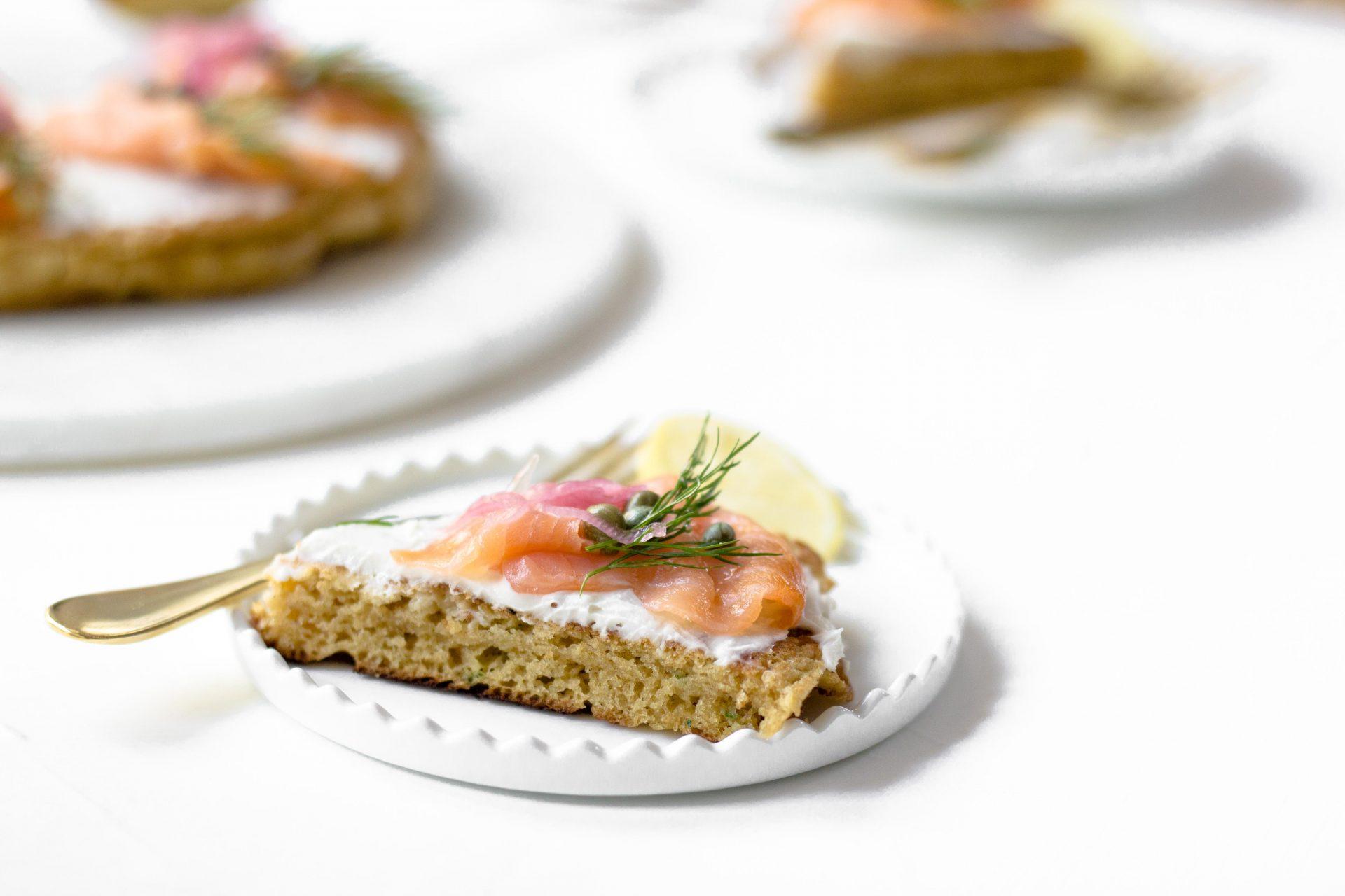 Smoked Salmon Chive Pancake-2