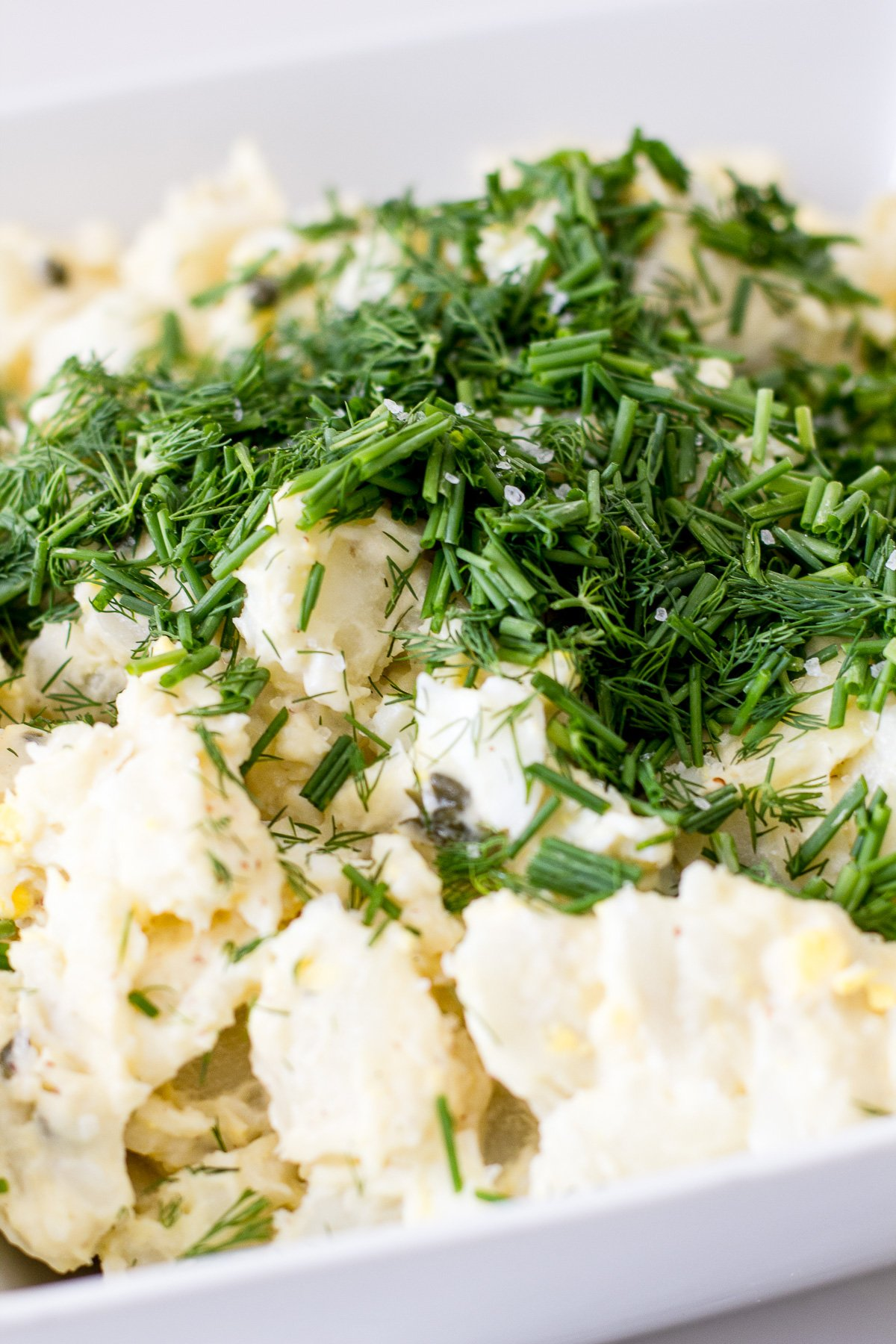 Potato Salad with Mortons Salt