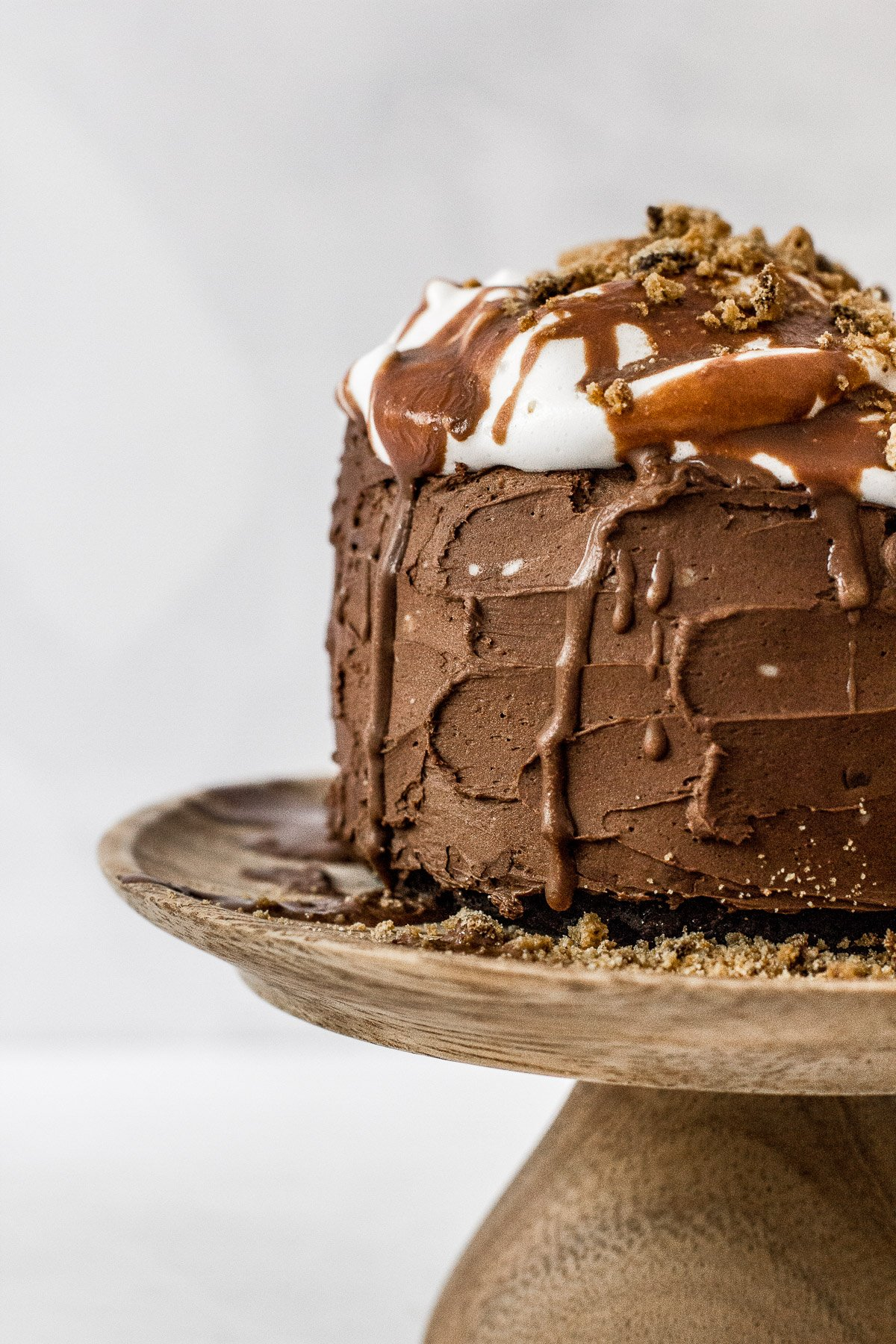 S'mores Grain Free Chocolate Cake