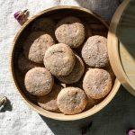 Cardamom Rose Snickerdoodle Paleo Cookies