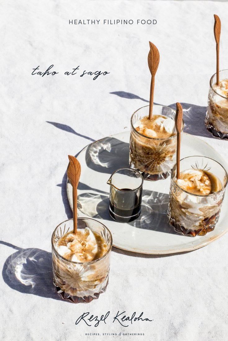 Healthy Taho at Sago