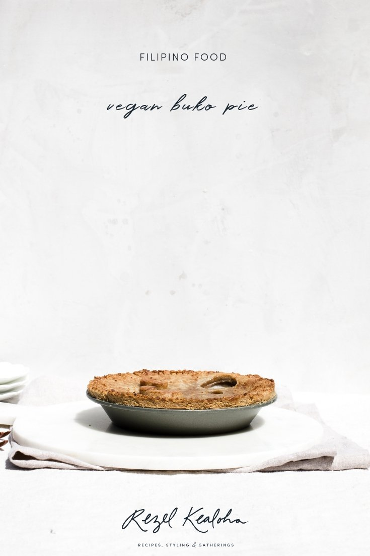 vegan buko pie