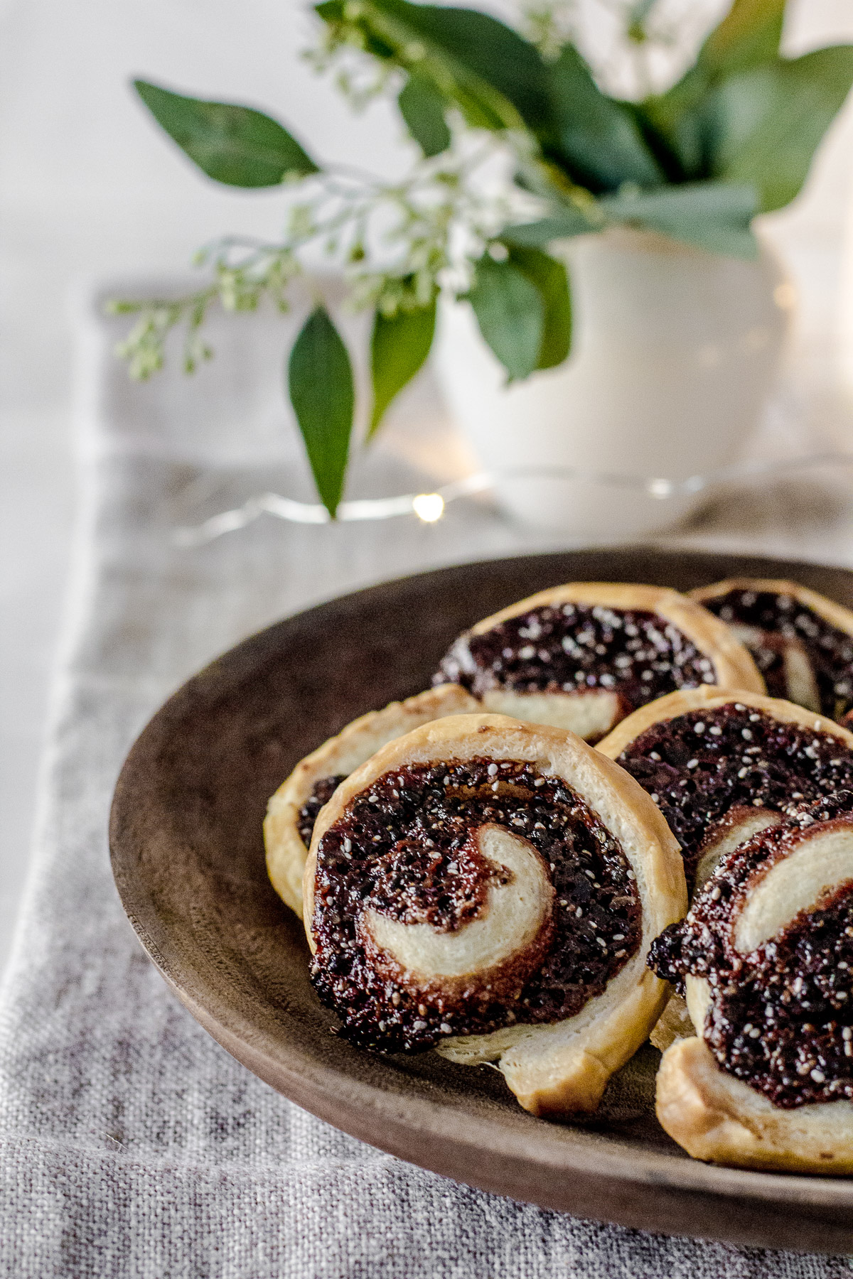 Indian Spiced Dreamy Puff Pastry Swirls