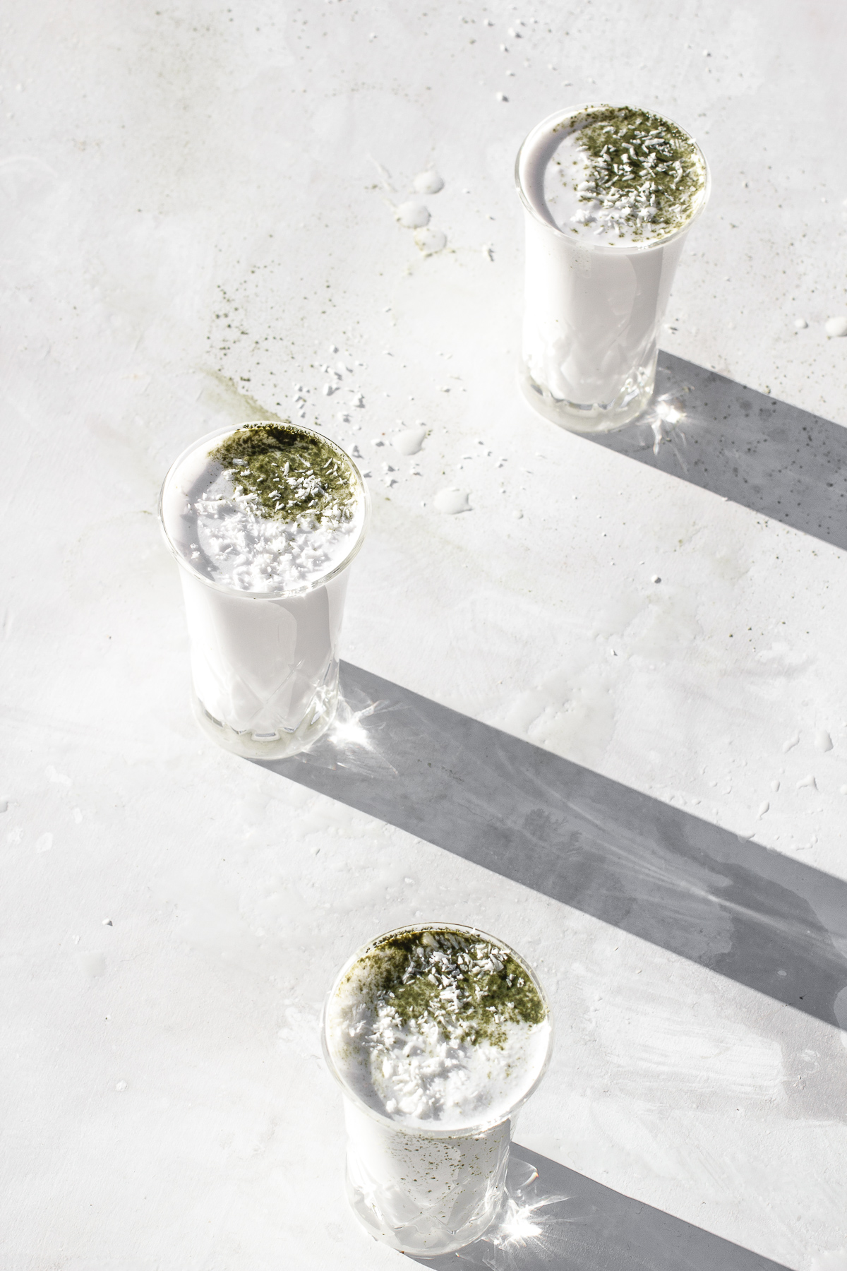 Creamy Buko Pandan Shooters (Filipino Inspired Cocktail)