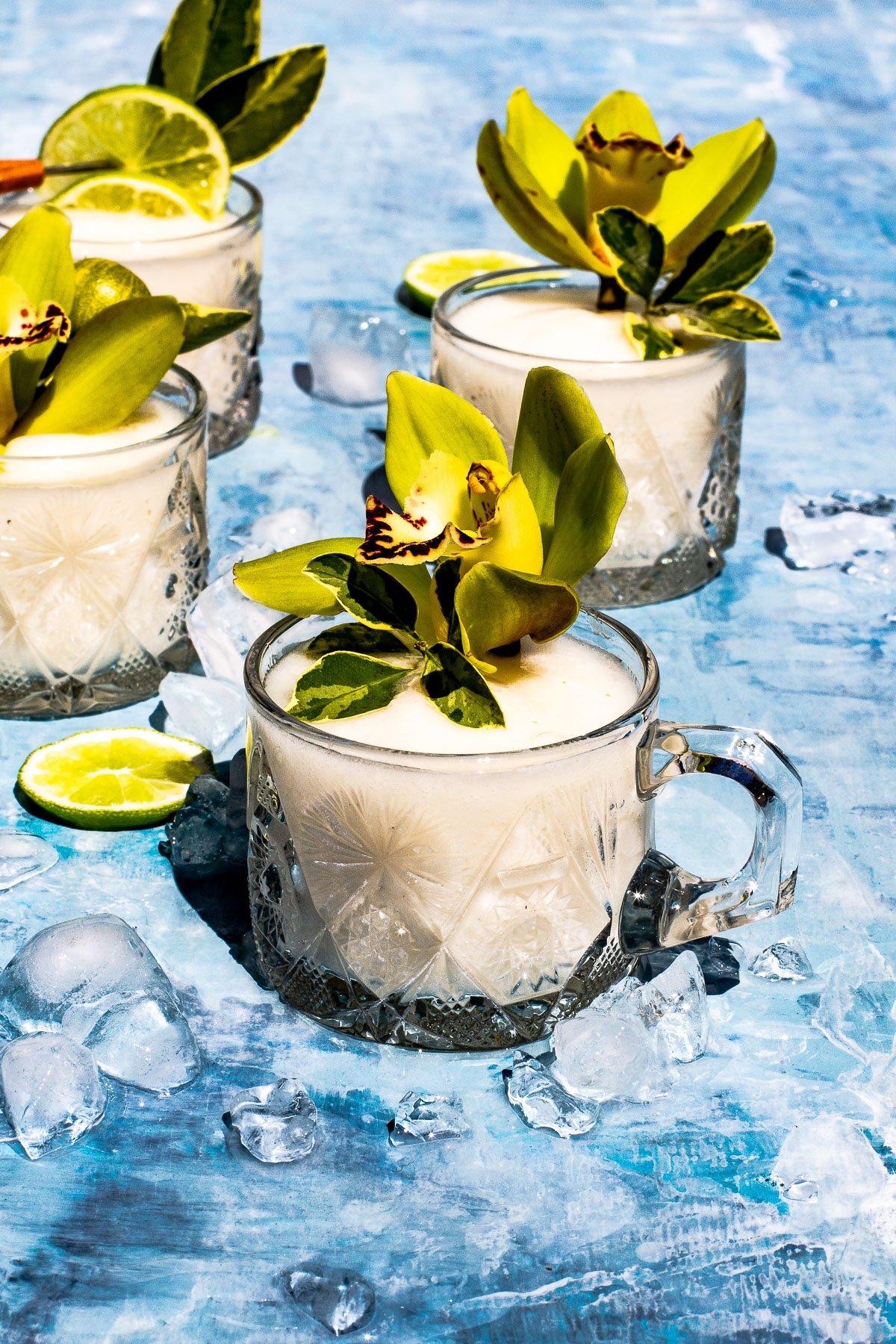 Guyabano Margarita Slushie Recipe for Mararita Week