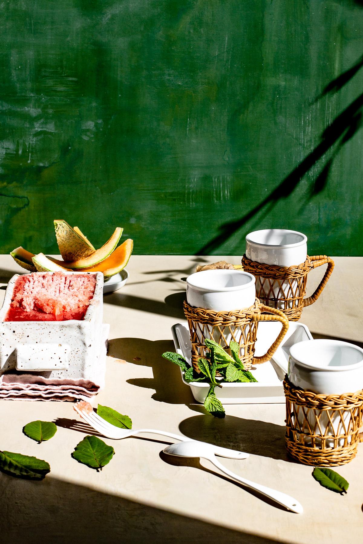 Tropical Fruit Ice Recipe