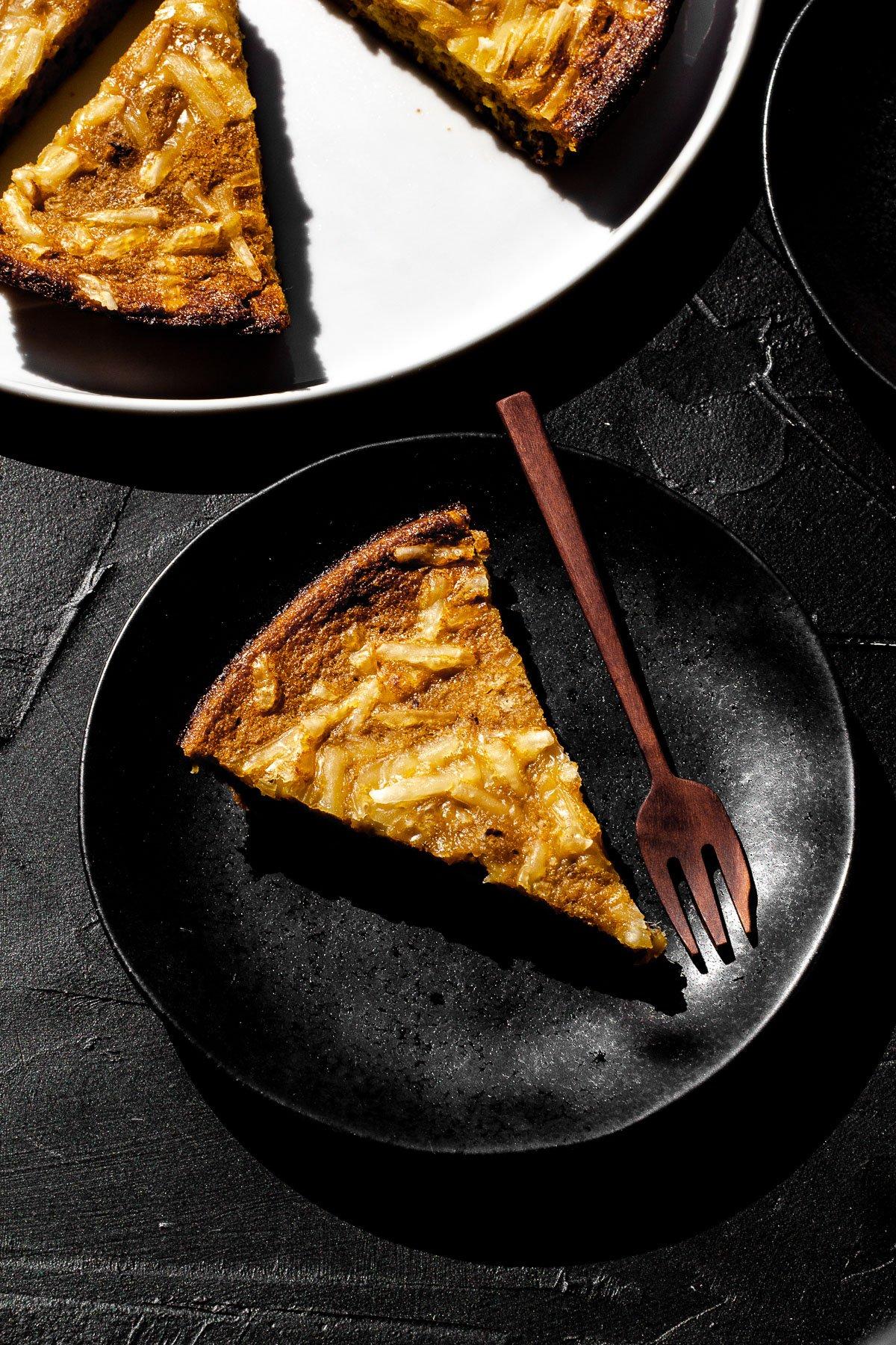 Cassava Bibingka with Cheese