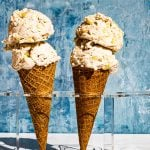 Vegan Mais con Kueso Sorbetes (Sweet Corn with Cheese Ice Cream)