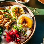 Heart Healthy Steal Cut Oats Arroz Caldo Recipe