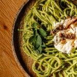 Malunggay Pesto Pasta