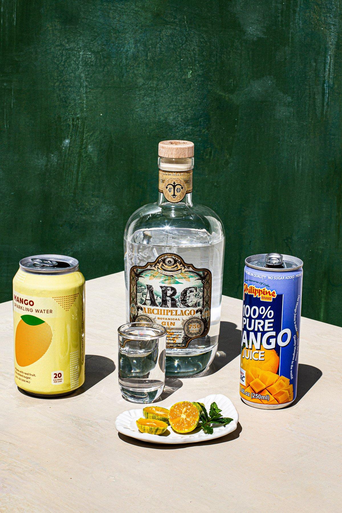 Mango Collins Cocktail