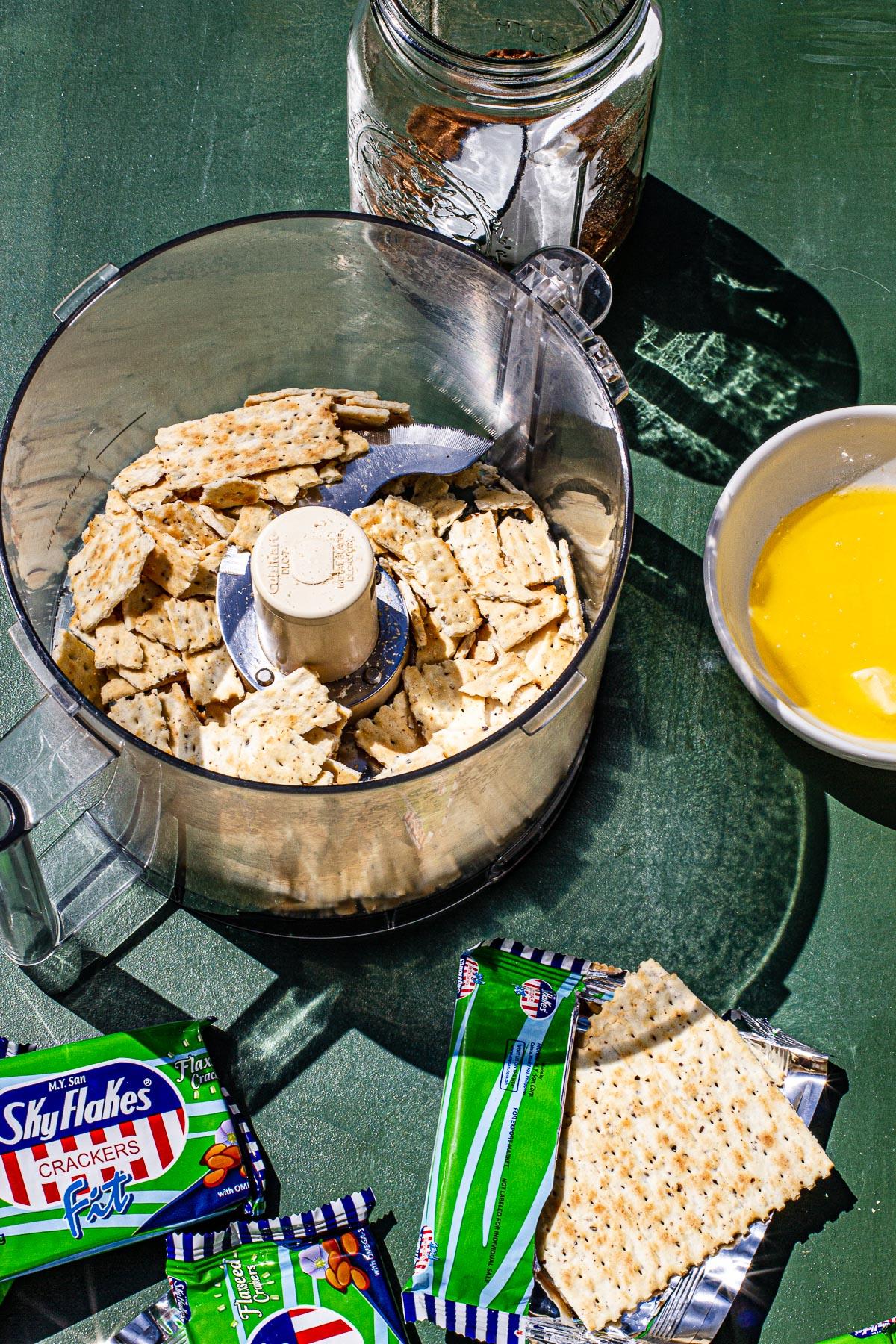 Calamansi Tart with Skyflake Crust