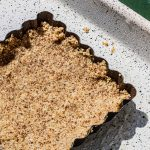 Skyflakes crust in tart tin.