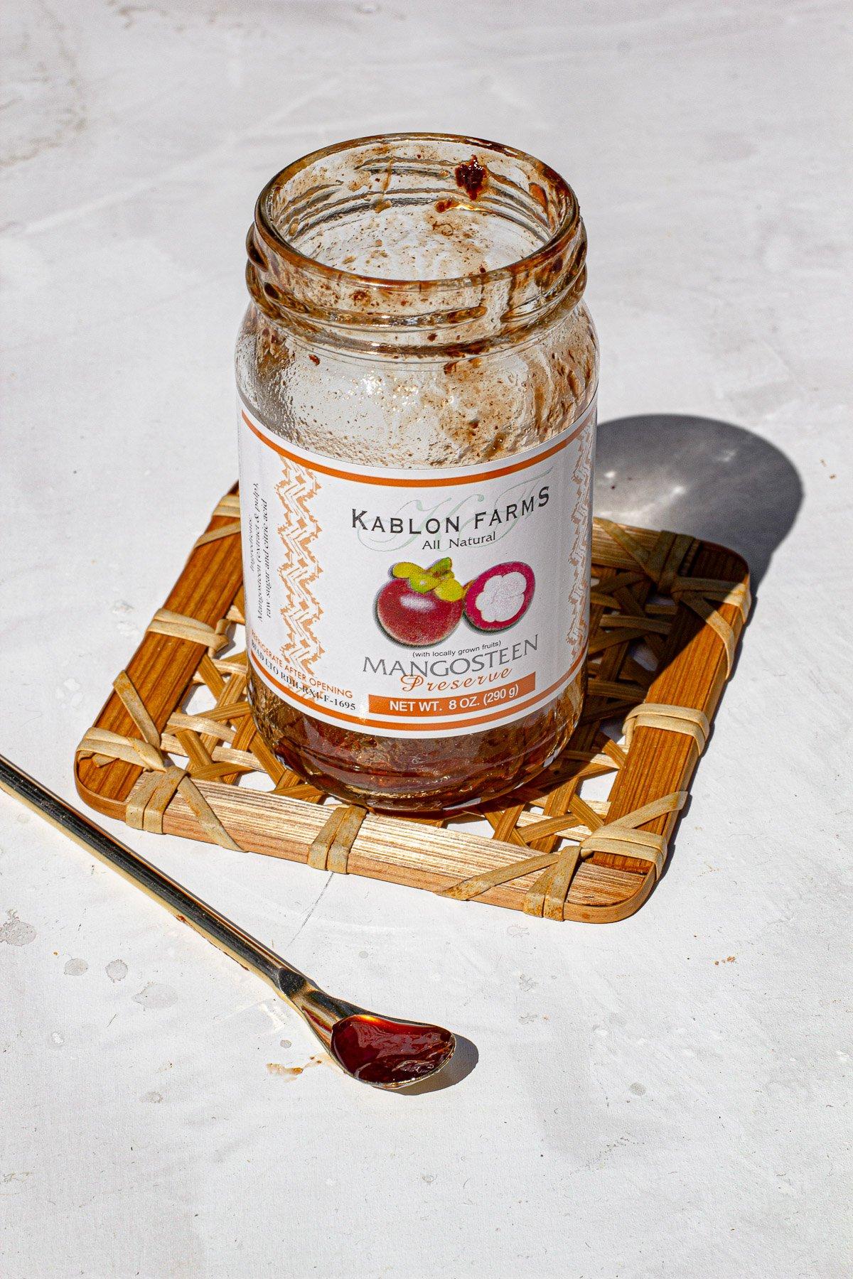 Jar of Mangosteen Jam