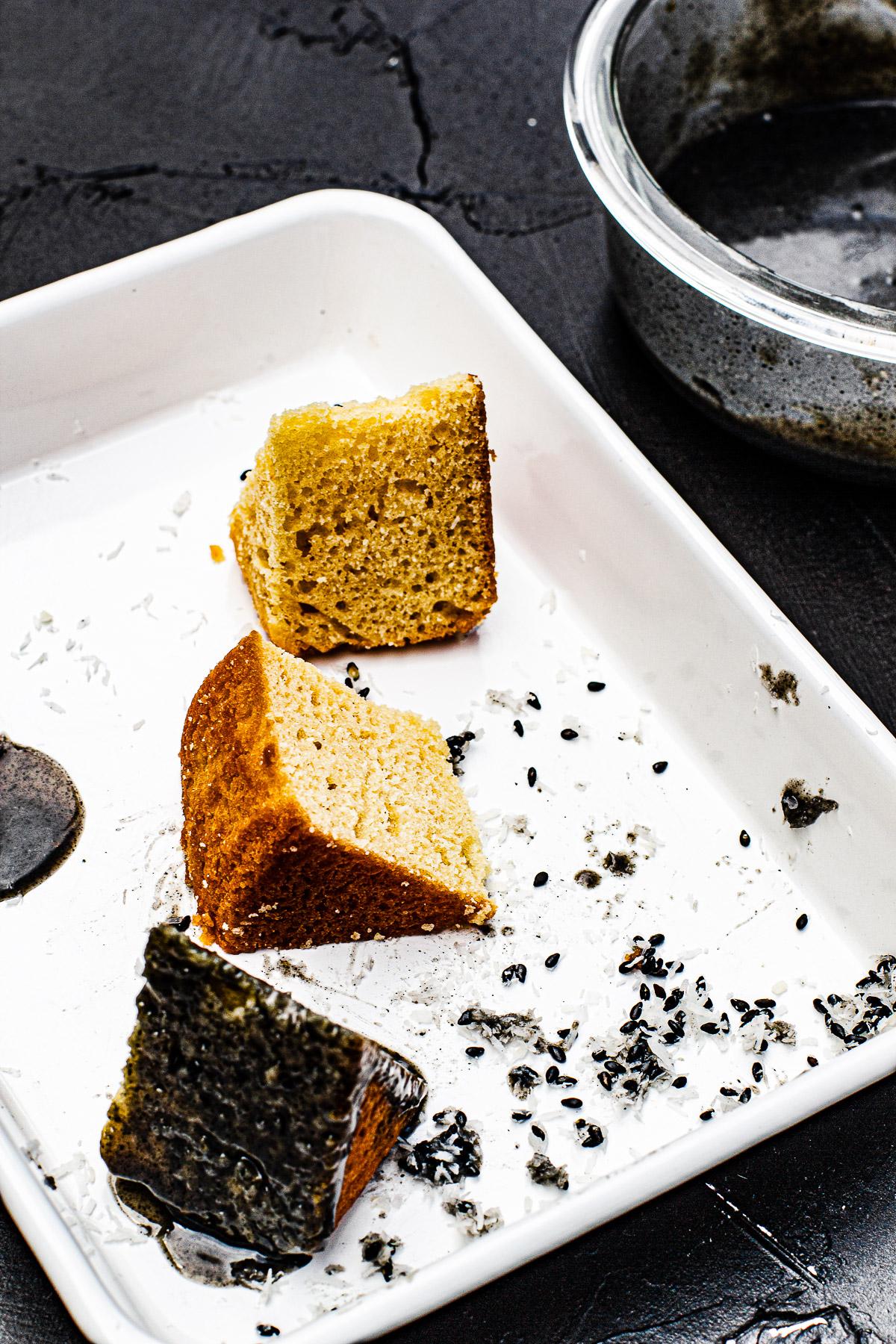 Vanilla Cake Slices