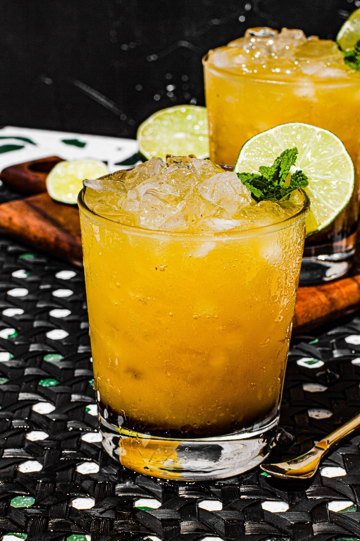 Mangorind Dark and Stormy Mocktail