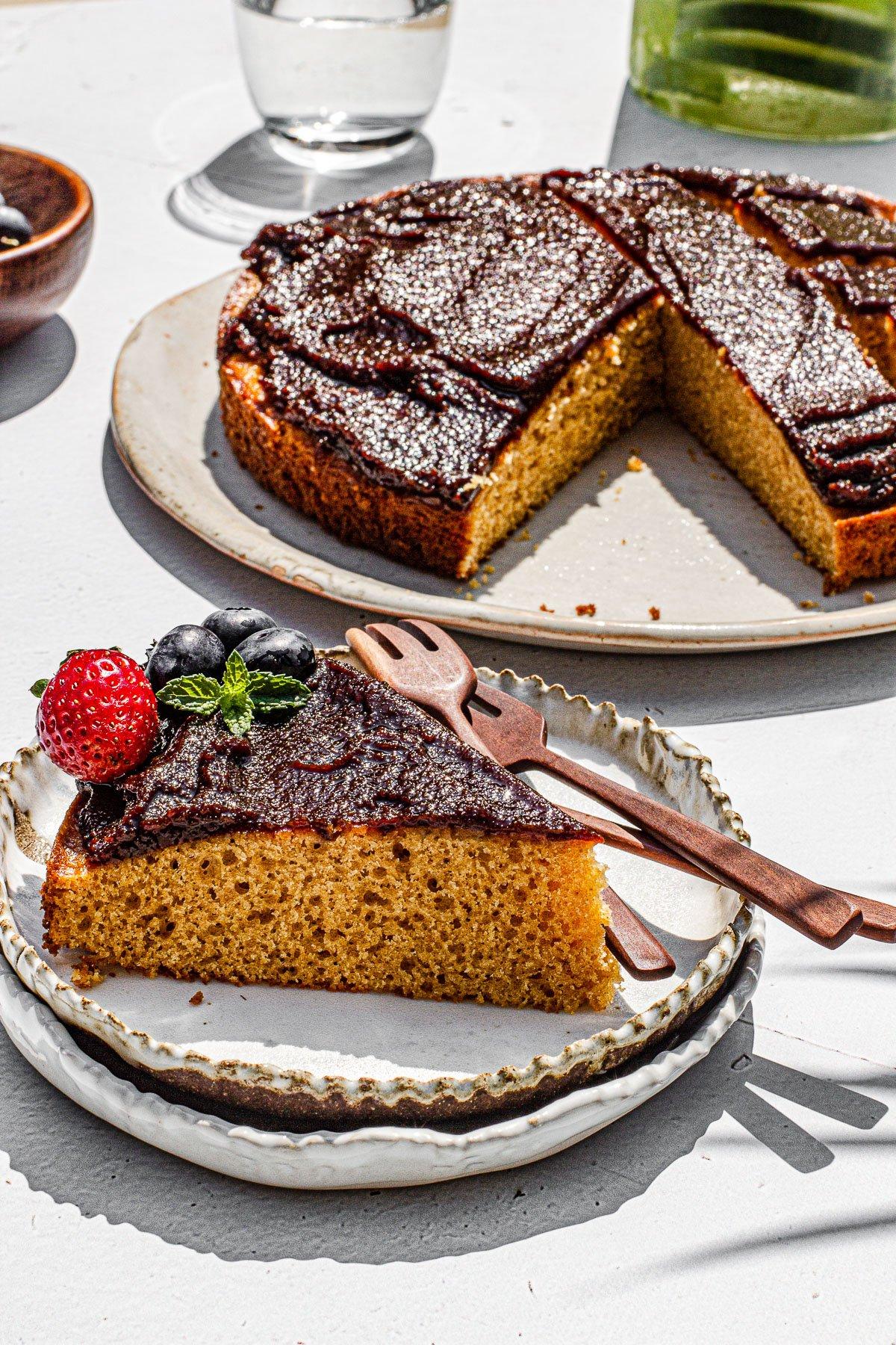 How To Make Matamis Na Bao (Coconut Jam) Cake